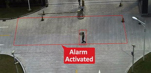 Video analytics Intrusion Detection